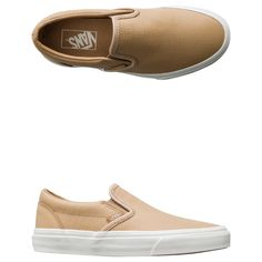 Vans Embossed Leather Classic Slip-on Shoe.     Women's slip-on shoe.     Low profile design.     Perforated Leather Upper.     Padded collar and heel counter.     Elastic side accents.     Signature waffle outsoles.     Imported.     Vendor Style #: VN0A38F7MU1.