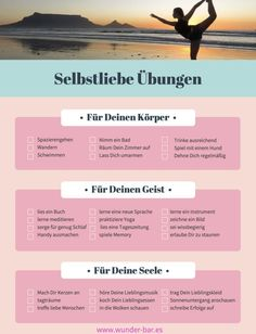 Exercises for self-love-Übungen zur Selbstliebe Simple exercises and routines that you can do yourself well. Health And Wellness, Health Tips, Health Fitness, Salud Natural, Mental Training, Psychology Facts, Health Psychology, Personality Psychology, Psychology Experiments