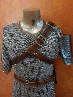 Legend of Zelda : Hyrule Warriors Link Leather Belts & Armor Set Custom Cosplay #Handmade