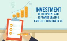 A 5.5% growth is expected for the equipment & software leasing industry. Have you considered #equipmentleasing?  #smallbiz #finance