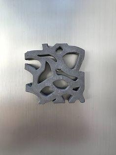 Magnet collection Mucem en béton, BbyNC Magnet, Artisanal, Cookie Cutters, Best Sellers, Creations, Collection