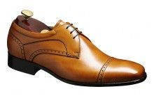 Barker mens leather derby semi brogue shoe Barker Nick  http://www.robinsonsshoes.com/barker-nick.html