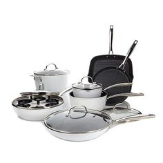 Curtis Stone DuraPan Nonstick 13pc Forged Cookware Set(180)