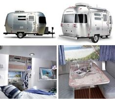 Mini Airstream Campers  @Terry Naskrent