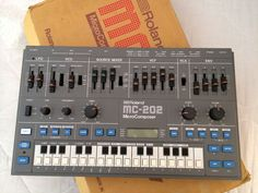 MATRIXSYNTH: Roland MC202 with Original Box