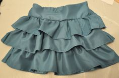 How to make a Layered Ruffle Skirt