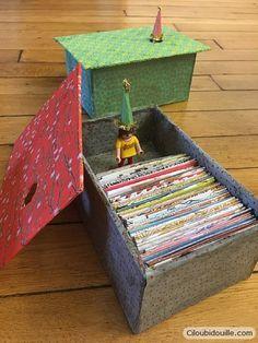 Fabriquer une boîte à petits bonheurs (avec tuto enveloppe origami) | Ciloubidouille