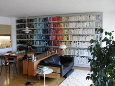 Color Coated Bookshelves | Designs By Katy