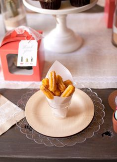 baked churros + dipping sauces with oriental trading and modern moments designs Baked Churros, Vegetable Sticks, Cheddar Cheese Sauce, French Onion Dip, Onion Soup Mix, Diy Wedding Projects, How To Make Cheese, Dinner Dishes, For Your Party