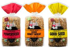 Dave's Killer Bread varieties - Powerseed, Seed Honey Wheat, Good Seed, Flowers Foods