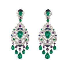 http://rubies.work/0652-ruby-rings/ Fabergé Regalia Earrings #Fabergé  #diamond #earrings                                                                                                                                                     More