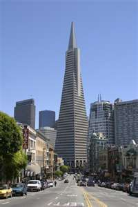 Transamerica building in S.F.