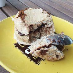 Mugcake relleno de chocolate