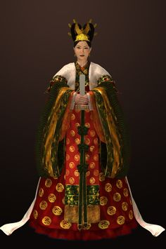 Goryeo Dynasty(AD918-1392) Korean traditional clothes #hanbok