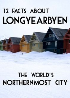 The worlds northernmost city and Svalbards only town with more than a handful of inhabitants Longyearbyen is the base for tourism in Svalbard. We took a Maxi Taxi guided tour and learned these fun facts about Longyearbyen Sweden Travel, Norway Travel, Travel Europe, Budget Travel, Travel Ideas, Travel Guide, Arctic Cruise, Svalbard Norway, Longyearbyen