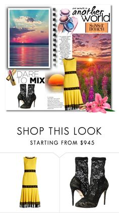 """""""sunset"""" by georgine-d ❤ liked on Polyvore featuring Dolce&Gabbana, Henri Bendel, Zimmermann and Avon"""