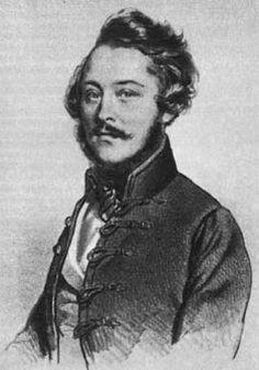 Eötvös József író, vallás és közoktatásügyi miniszter (1848, 1867–1871), az MTA elnöke (1870-1871)