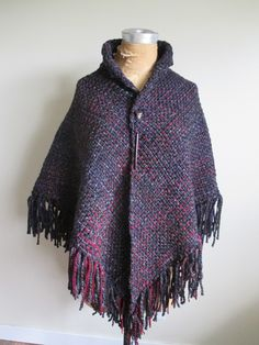 Some of my newest Shawls made on my new Tri-Loom.