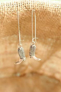 Western Jewelry Cowgirl Boots Statement Jewelry by belmonili, $15.00