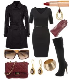 Mysterious #fashion #style #look #dress #mode #outfit
