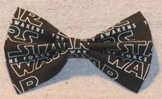 Star Wars Force Awakens Hair Bow by TheRubyPigdotcom on Etsy