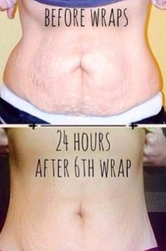check out these amazing results! This is after 6 wraps and this client has had awesome results. She's totally eliminated her stubborn love handles tightened her loose skin and smoothed out her stomach to wash board status :) it is totally amazing how your body can transform with the help of this crazy wrap thing and my simple yet effective steps for success. So if you need a little help getting summer ready for the beach, pool parties, or sexy little dresses hit me up :) 443.470.3950