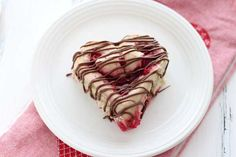 Heart Shaped Raspberry Rolls. A sweet treat just in time for Valentine's Day.