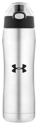 Under Armour by Thermos Stainless Steel Insulated Water Bottle with Push Button Top - Stainless Steel