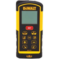 Dewalt Dw03101 330-Feet Laser Distance Measurer, 2015 Amazon Top Rated Layout Tools #HomeImprovement