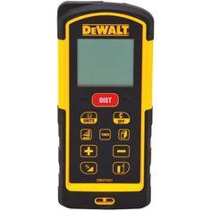 Dewalt Dw03101 330-Feet Laser Distance Measurer, 2015 Amazon Top Rated Dimensional Measurement #HomeImprovement