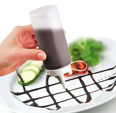 Fackelmann 41052 Dekorierflasche 200 ml, Patisserie/Food&More: Amazon.de: Küche & Haushalt