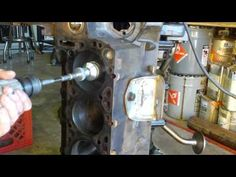 Engine Rebuild 101 - Part 4 - Cylinder Honing - YouTube