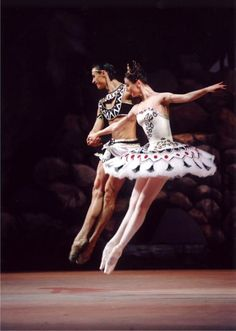 one of our first ballet picture!!!! looove!!! svetlana zakharova and sergej fillin