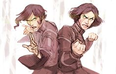 """""""Suyin and Lin Beifong by the amazing Makani aka Heather Campbell"""""""