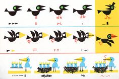 bird8 Bird Illustration, Character Illustration, Ed Emberley, Lynda Barry, Book Shirts, Illustration Techniques, Arts Ed, Creature Design, Drawing For Kids