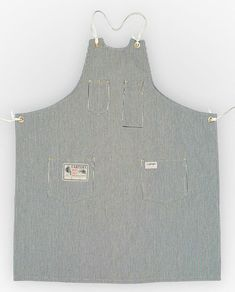 by Carter's Overalls Work Aprons, Apron Designs, Aprons Vintage, Apron Dress, Dress Sewing Patterns, Work Wear, What To Wear, Denim, My Style