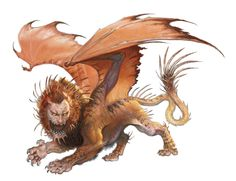 Manticore - The Forgotten Realms Wiki - Books, races, classes, and more
