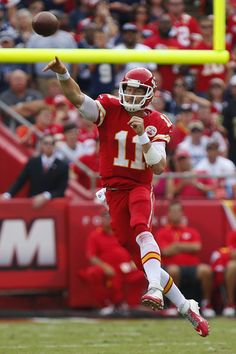 Alex Smith Photos - Wild Card Playoffs - Kansas City Chiefs v Indianapolis Colts - Zimbio