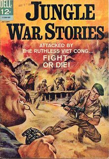 From Wikipedia: Jungle War Stories was a Dell Comics American comic book first published in It was the first American war co. War Comics, American Comics, Vietnam War, Comic Covers, Monster Mash, Silver Age, Venus, Military, Prints