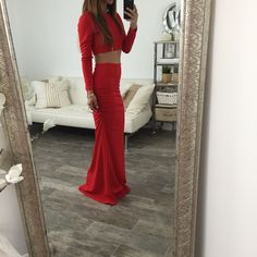 The Zoe Top - Red