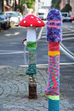Urban Knitting am Fürstenplatz | SAPRI-Design