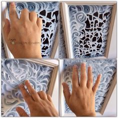 I had no idea this was even possible--DIY stained glass! You have to see this! @Simple Southern Charm