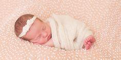 marietta in-home newborn session :: marietta newborn photographer :: marietta lifestyle photographer :: kennesaw newborn photographer :: newborn girl :: in home newborn :: lifestyle newborn :: pink bean bag fabric :: mom flowy dress :: maternity gown