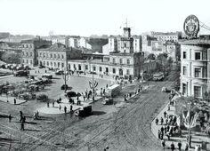 Skrzyżowanie Marszałkowskiej z Al. Jerozolimskimi w roku Old Photographs, City Maps, Beautiful Buildings, Capital City, Homeland, Old Town, Old Things, Street View, Lost