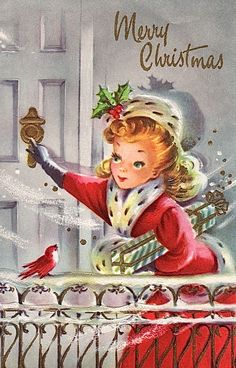 Old Christmas Post Сards — Vintage Christmas Lady Vintage Christmas Images, Old Christmas, Christmas Scenes, Old Fashioned Christmas, Retro Christmas, Vintage Holiday, Christmas Pictures, Christmas Greetings, Antique Christmas