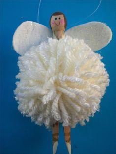 How to Make a Christmas Angel / Fairy Tree Decoration | Anjie's Blog