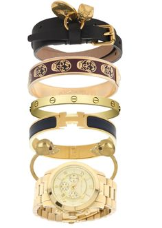 Perfect Gold Arm Candy