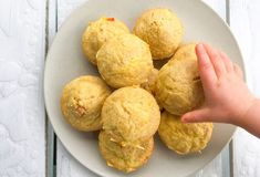 Matmuffins for barn Baby Food Recipes, Potatoes, Sweets, Muffins, Vegetables, Breakfast, Cake, Recipes For Baby Food, Morning Coffee