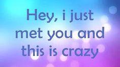 Call Me Maybe - Lyrics - Carly Rae Jepsen - YouTube