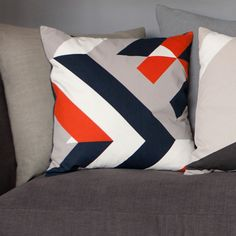 Warwick-feature cushion from Lorna Syson.